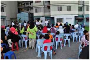 Health screening at Kampung Orang Asli, Serendah, Selangor