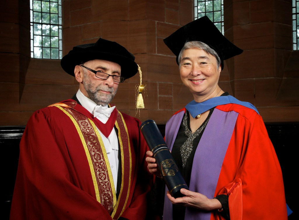 Dr Mei Ling young and Dr J Fraser Livingston