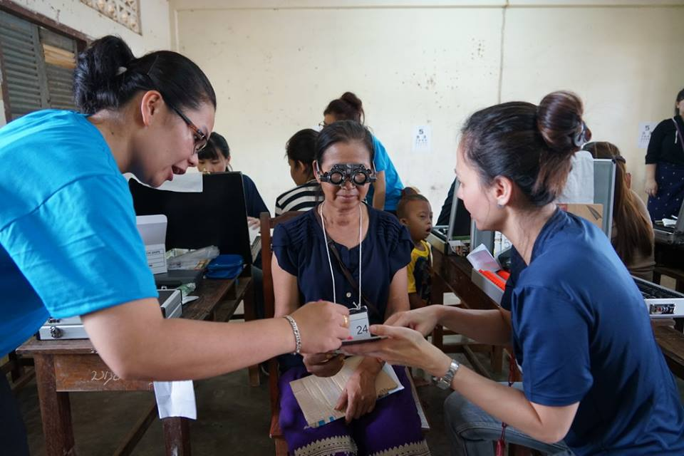 11)Free spectacles for the villagers