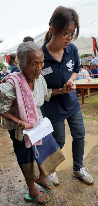 8)Ushering the elderly to seek treatment