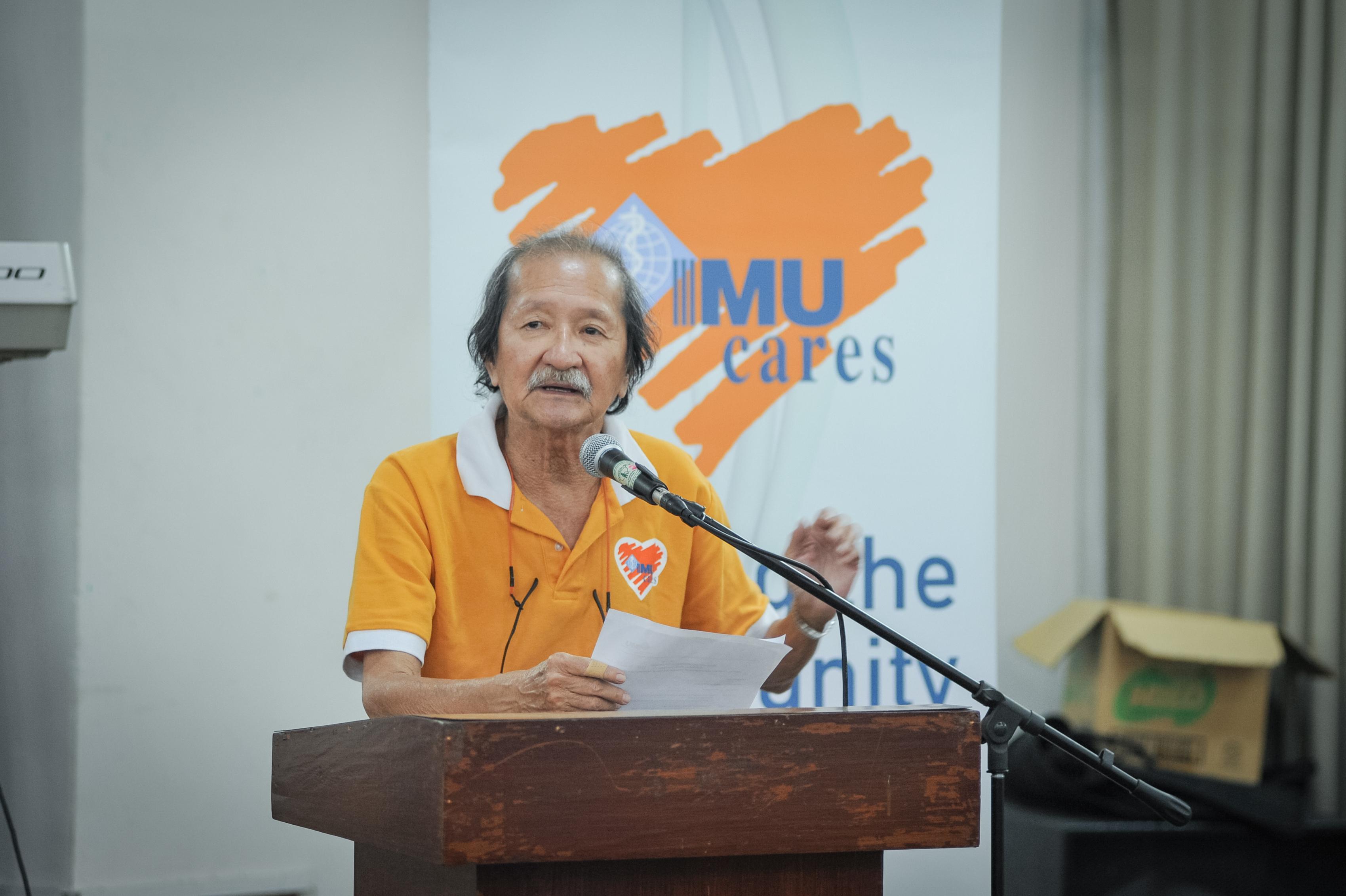 Prof Ong Kok Hai (IMU Cares)