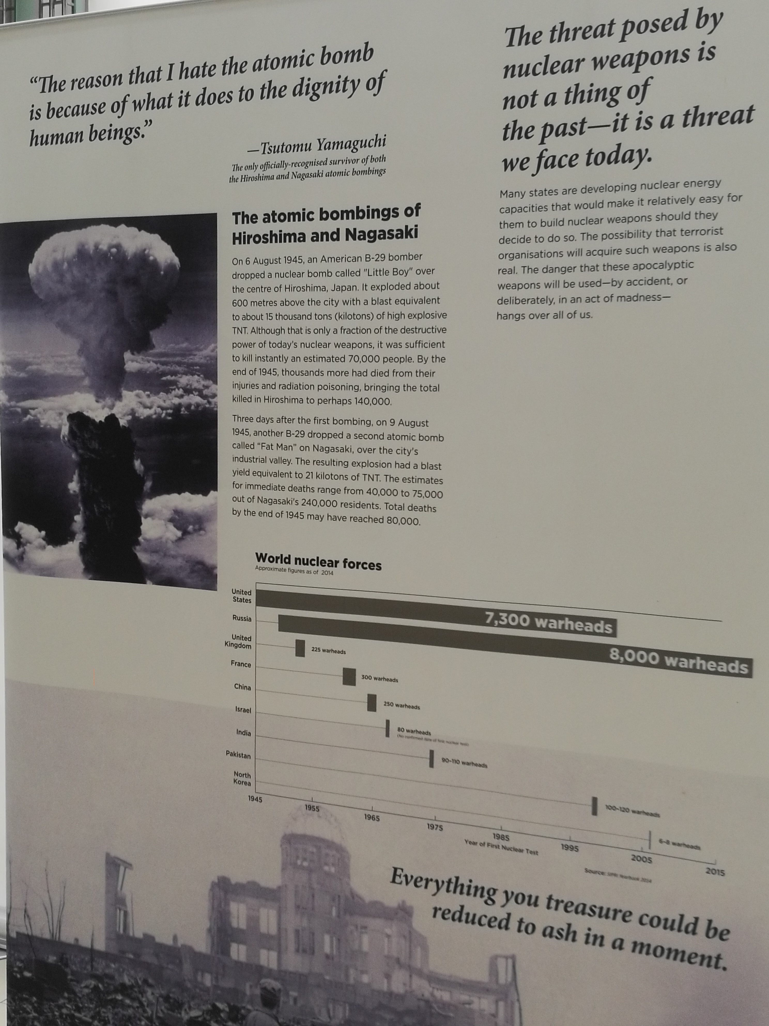 the atomic bomb called little boy