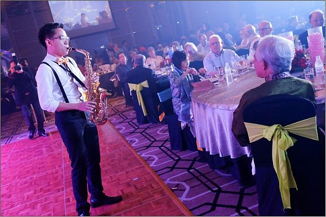 Entertainment at IMU's 25th Anniversary Dinner
