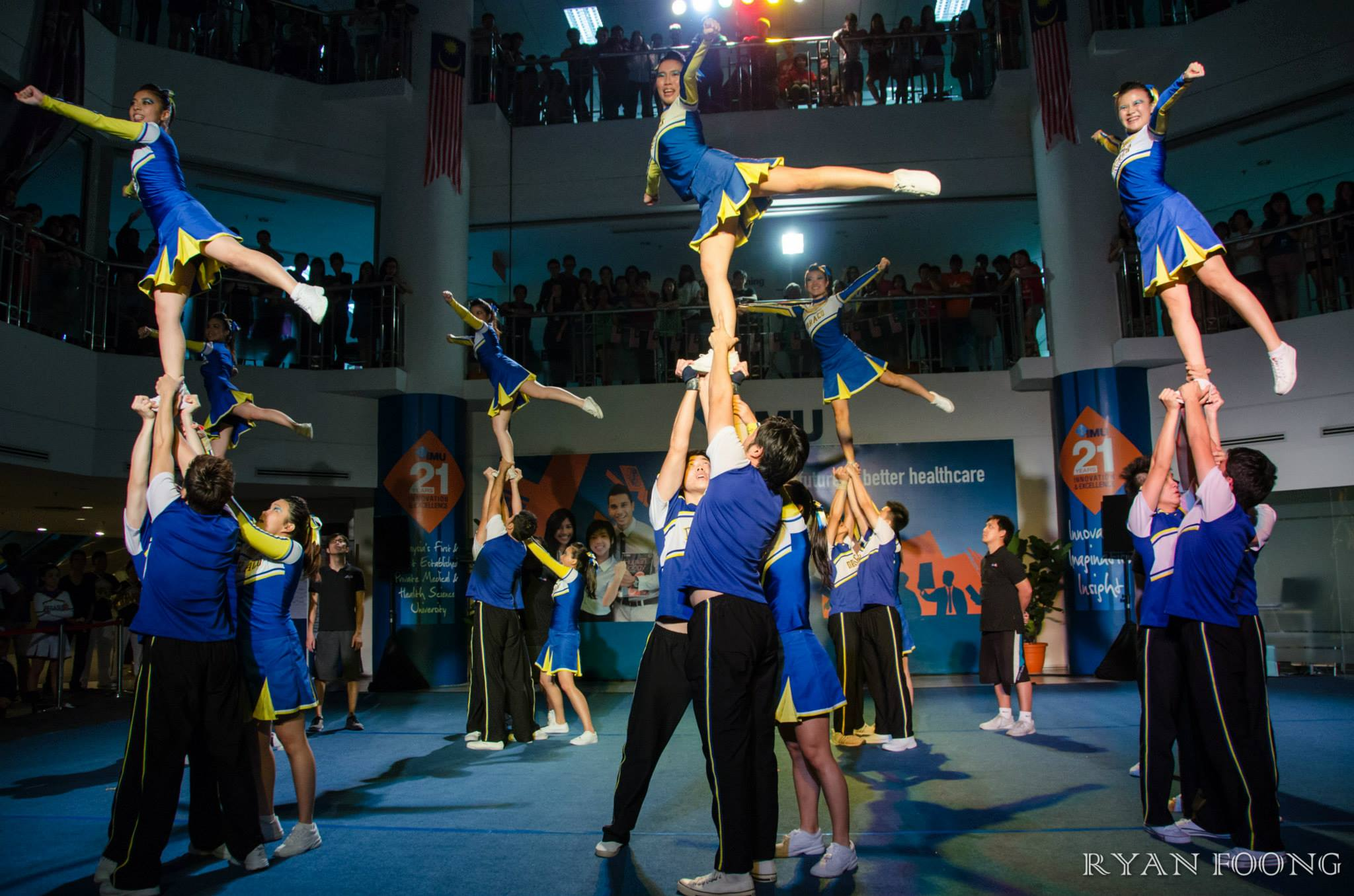 Cheerleading at IMU