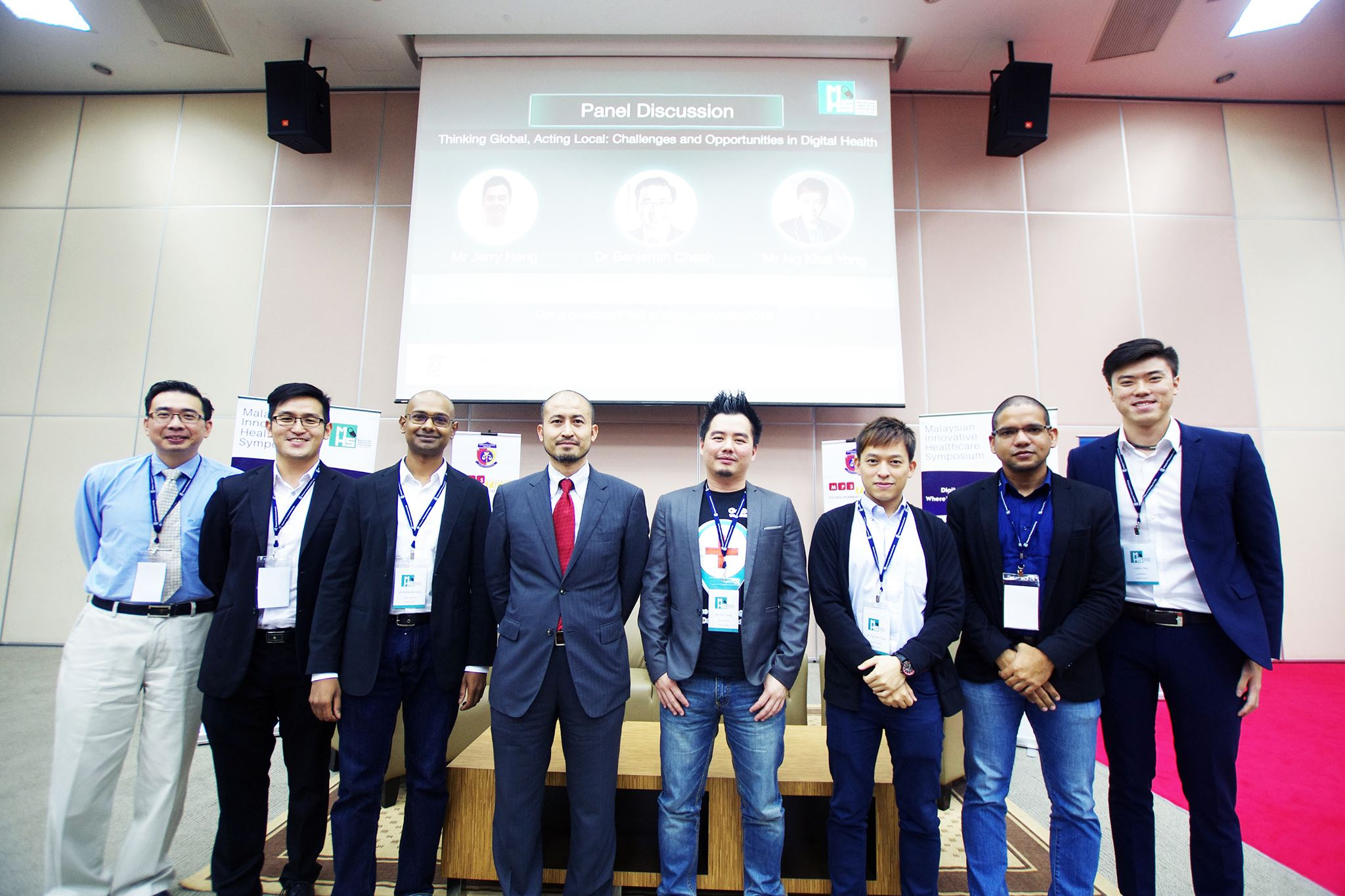 IMU Alumnus as Organising Chairperson of Malaysian Innovative Healthcare Symposium