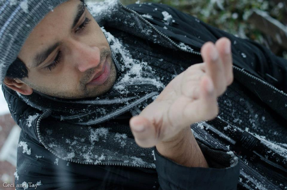 IMU Alumnus enjoying the snow