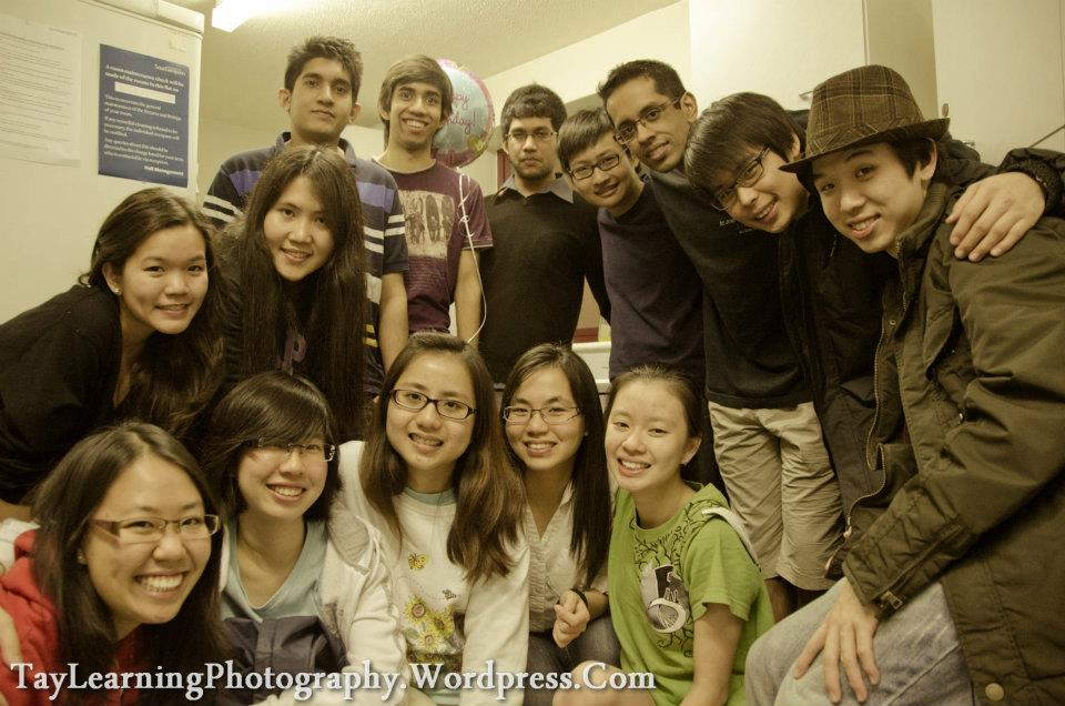 IMU Alumnus and his IMU friends