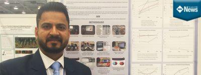IMU Dentistry lecturer Dr Abhishek wins best prize