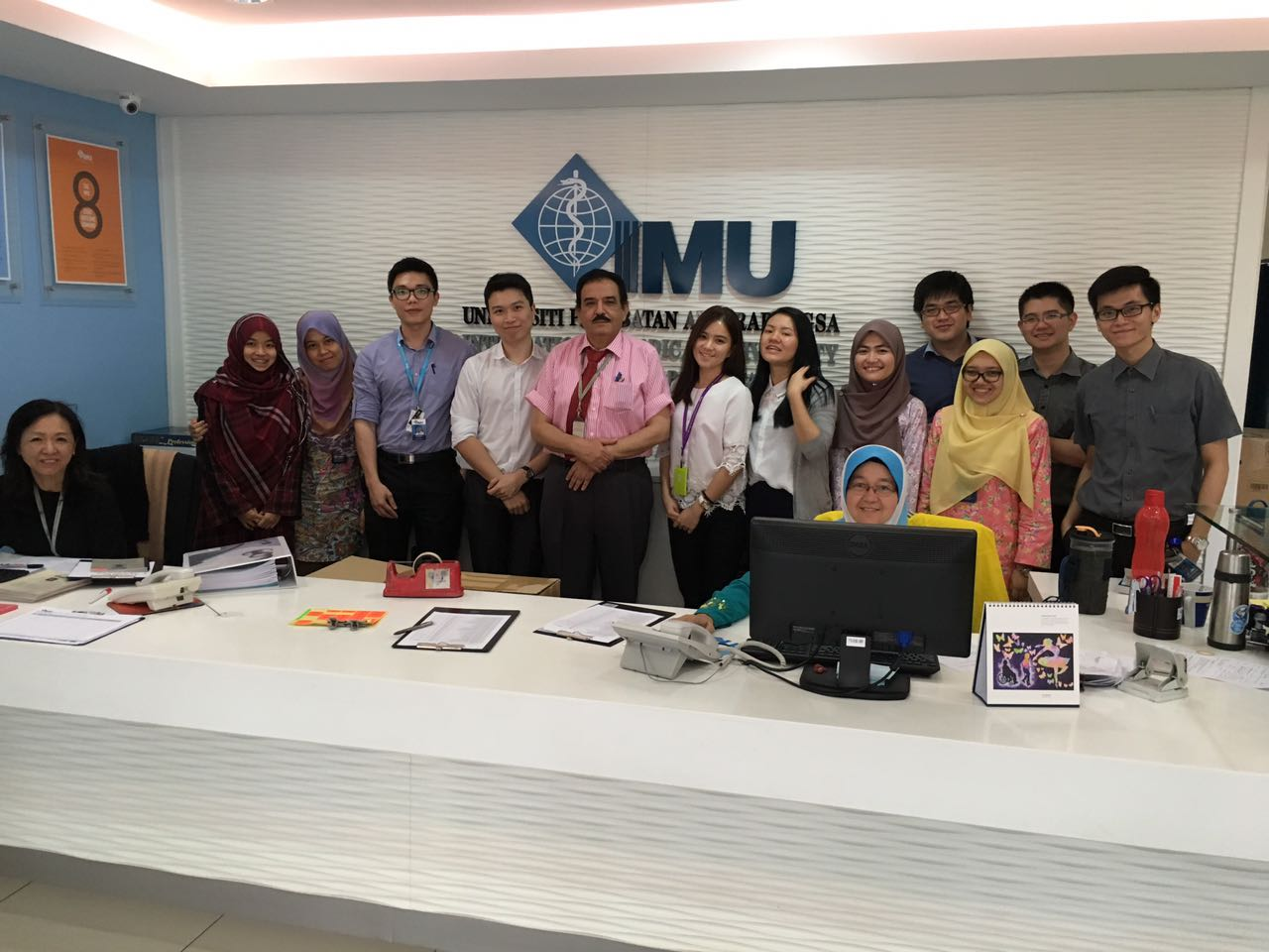 IMU Medical Alumnus at the IMU Clinical campus