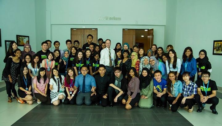 Welcoming party for IMU psychology students