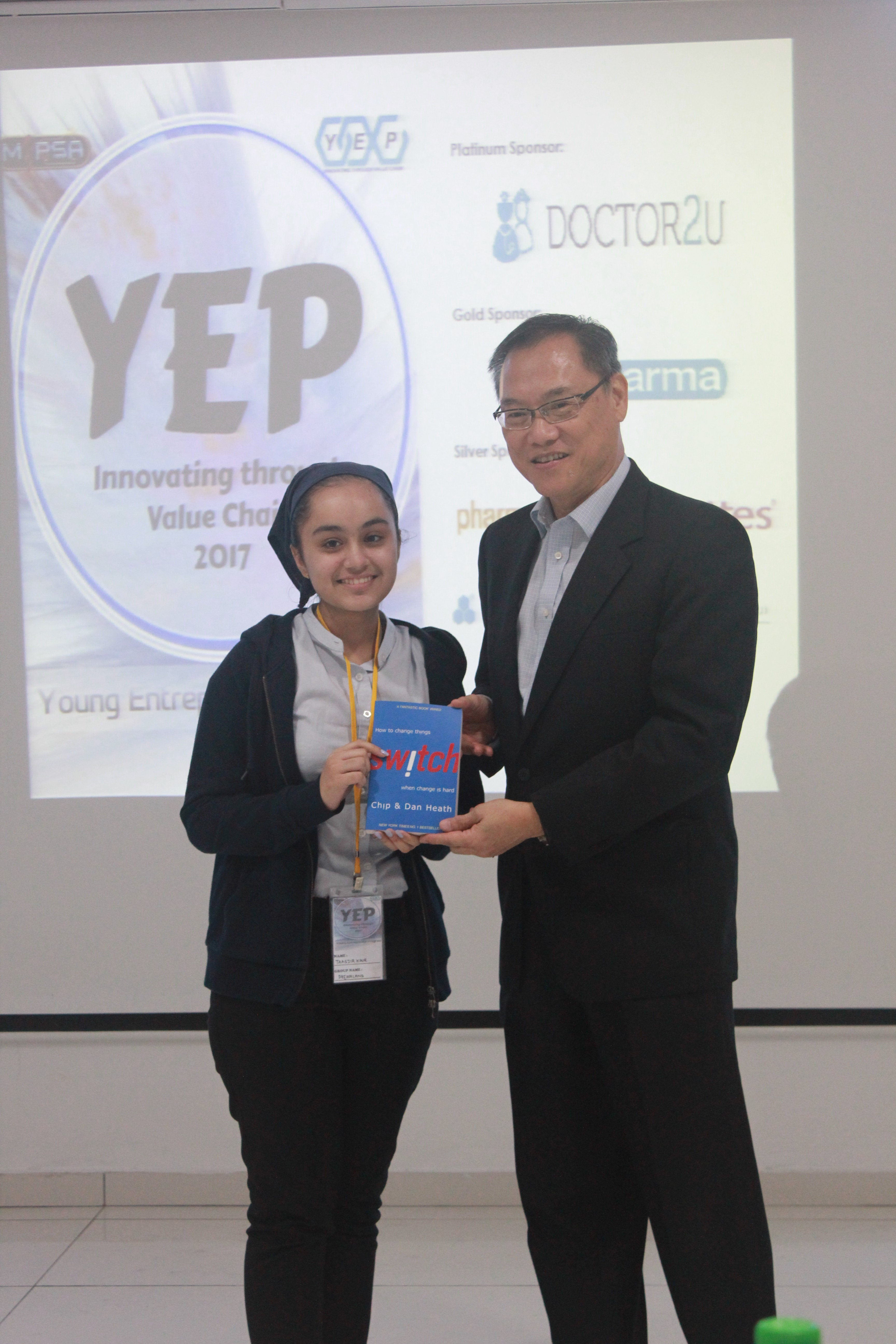 Best Competitor at YEP Competition