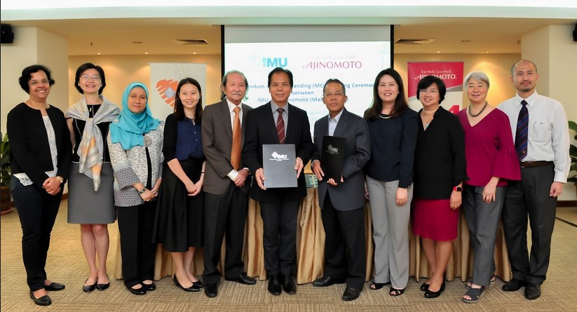 "IMU Inks Agreement with Ajinomoto for ""Elderly Nutrition Programme"""