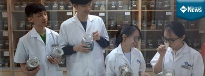 IMU Chinese Medicine students