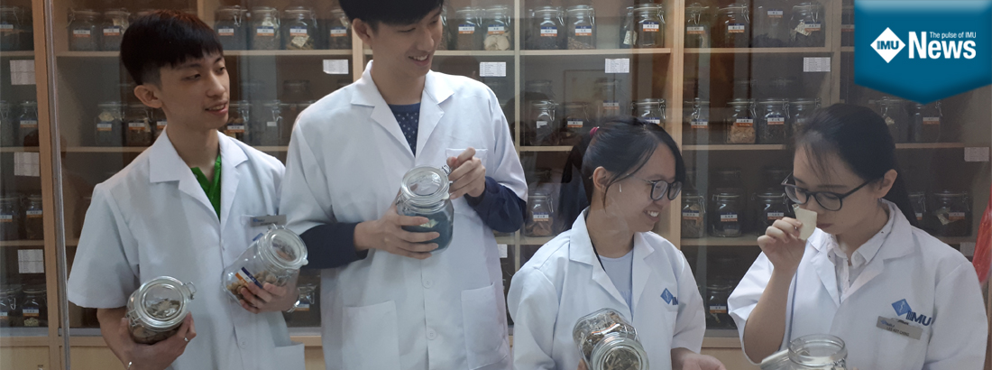IMU Chinese Medicine students