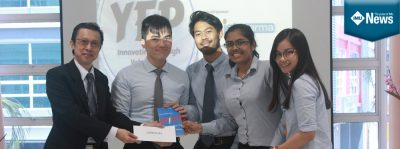 IMU Students in the Champion Team for the YEP Competition
