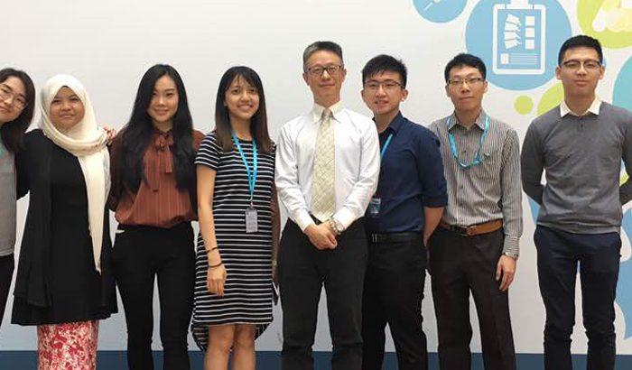 Amiera Mat Aziz, a non-Chinese student studying Chinese Medicine at IMU