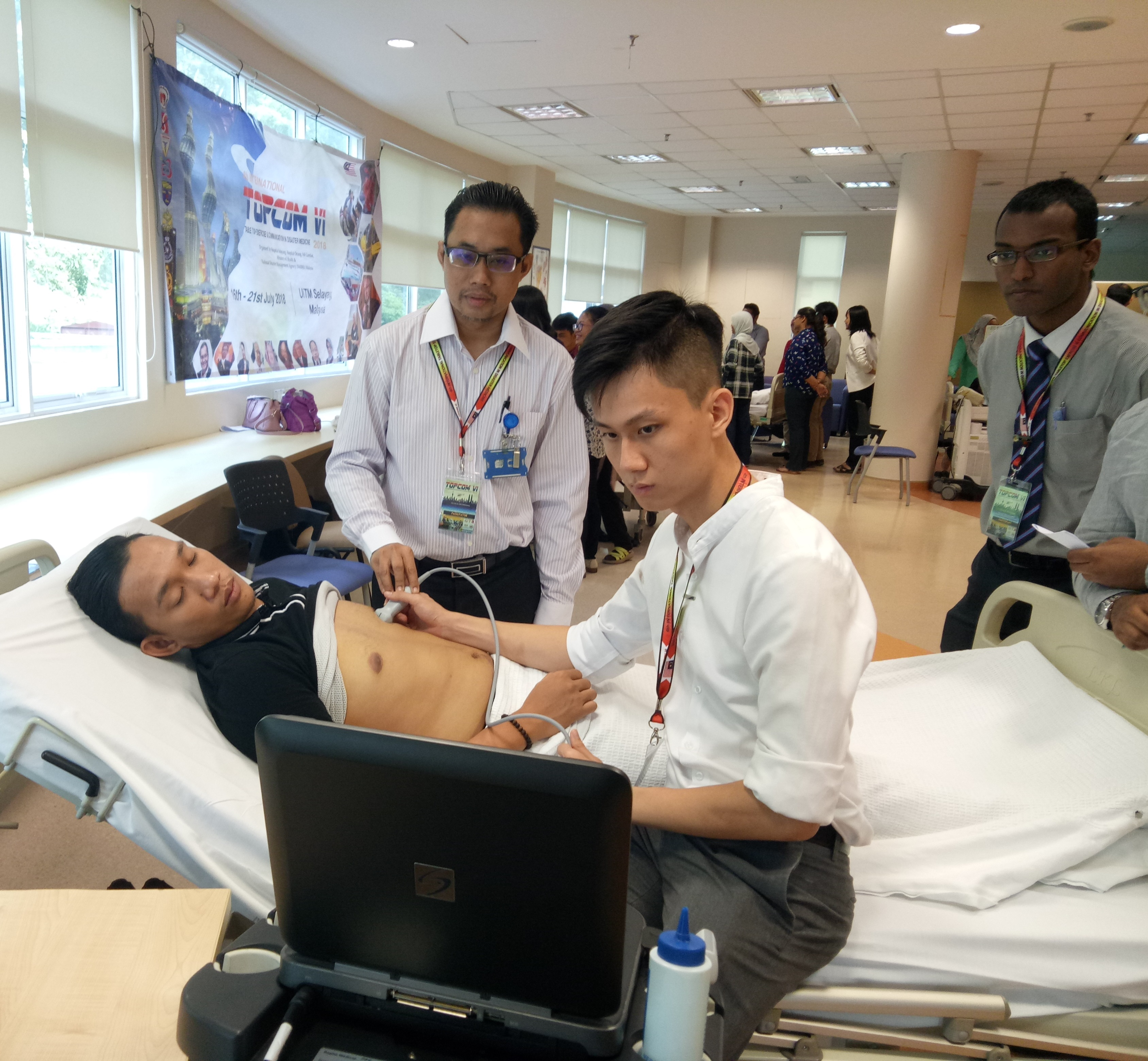 IMU News | Golden Learning Opportunity in Disaster Management for
