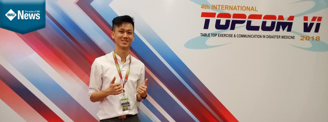 IMU Medical Student at TOPCOM