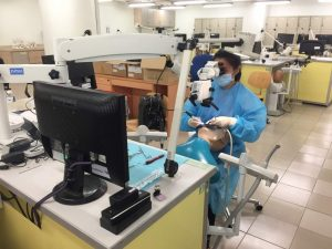 Hands on activity at IMU's Molar Endodontics Simplified Workshop