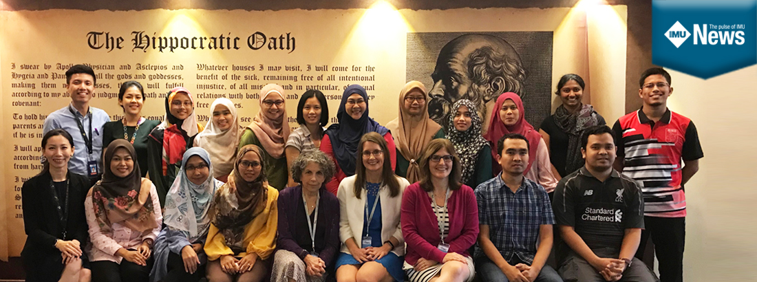 Participants and participants of workshop to train students and dietitians on Nutrition-Focused Physical Examination (NFPE) skills