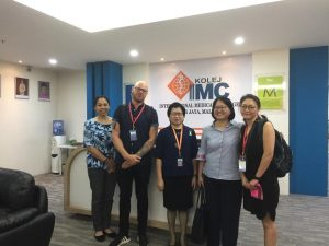 IMU Student Mobility Programme: Visit to IMC