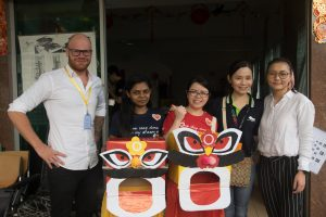 Visit to Tong Sim: IMU Student Mobility Programme