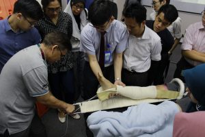 Orthopeadics session at a workshop at IMU Clinical Campus in Seremban