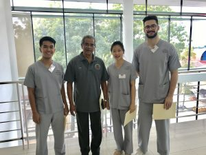 3 IMU Students were finalists at the 7th National Medical Students Basic Surgical Skills Competition 2019