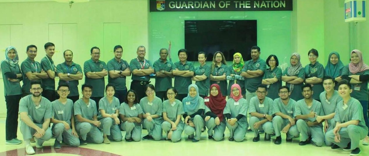 Participants, including 3 IMU Students, of the 7th National Medical Students Basic Surgical Skills Competition 2019