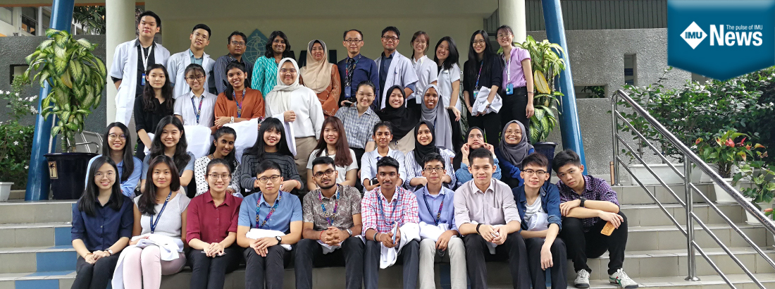 A field trip to IMU Clinical Campus Seremban for IMU's Foundation in Science students