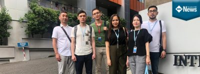 Six Kazakhstan students attended a Short Course on Research Management at IMU's campus in Bukit Jalil.