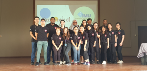 Community Service Project by IMU Medical Biotechnology Students to raise awareness among Form Four and Five science students on the impact of microorganisms.