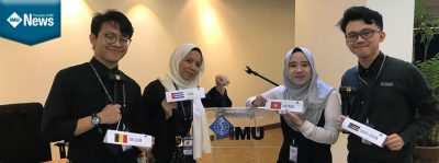 IMU Medical Student is chosen as Most Outstanding Delegate at the MyWHA 2019 Conference held in IMU Bukit Jalil on 29-31 March 2019.