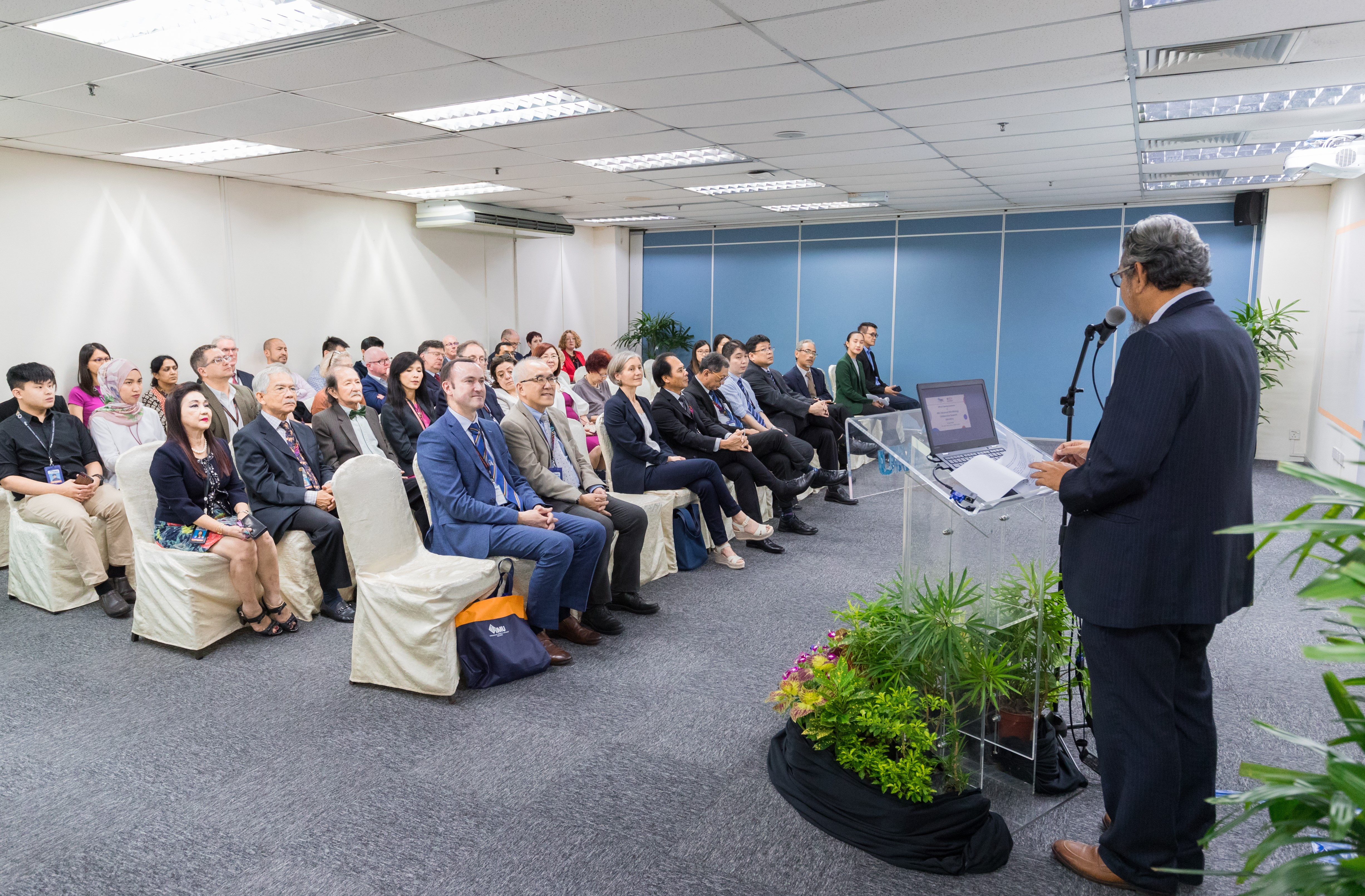 An IMU research facility to promote stronger research collaboration and technology transfer between Malaysia and international partners