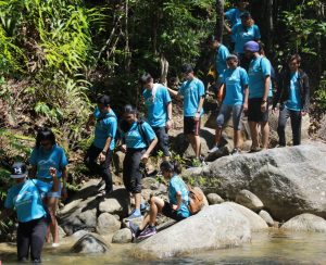 A hiking trip for IMU students and alumni in conjunction with World Health Day 2019