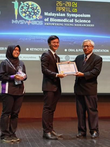 "An IMU Biomedical Science student was the second runner-up for the ""Best Oral Presentation"" category at 10th Malaysian Symposium of Biomedical Science."