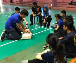 A learning experience for IMU medicine students at Inspire I-Talent Sport Development Programme for PARA athletes