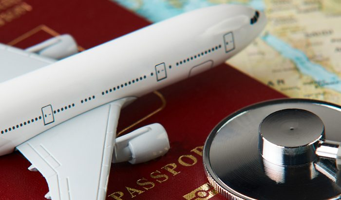 IMU Healthcare provides personalised medical advice and treatment to a traveller.