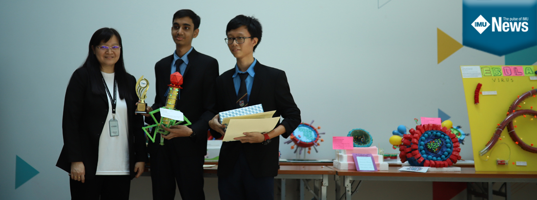 One of the Winning teams at IMU Medical Biotechnology Day