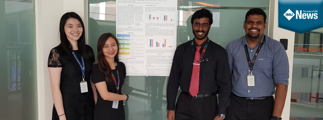 An opportunity for IMU Medical Biotechnology students to present at the 30th Intervarsity Biochemistry Seminar.