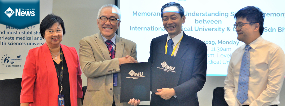 IMU News | IMU and CryoCord Collaborate in Regenerative Medicine and