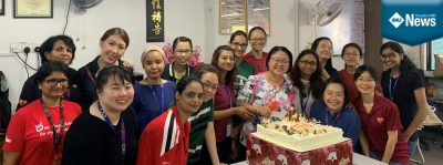 IMU's Nursing Division celebrates Nurses' Day by giving back to the community at Rumah Victory, Puchong.