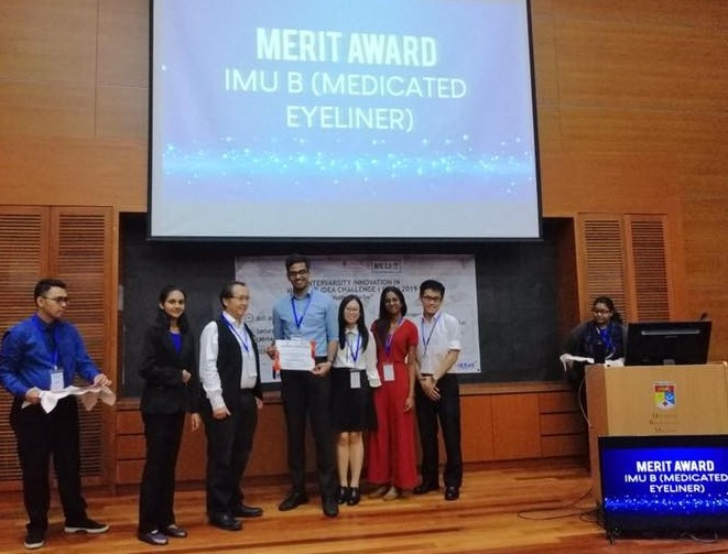 An invention by IMU's School of Pharmacy students for blepharitis