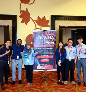 1st Borneo Trauma Update 2019 Conference and Trauma Moulage Competition sees success for IMU lecturer and students.