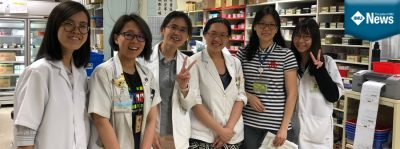 IMU Pharmacy students' memorable electives in Taiwan.