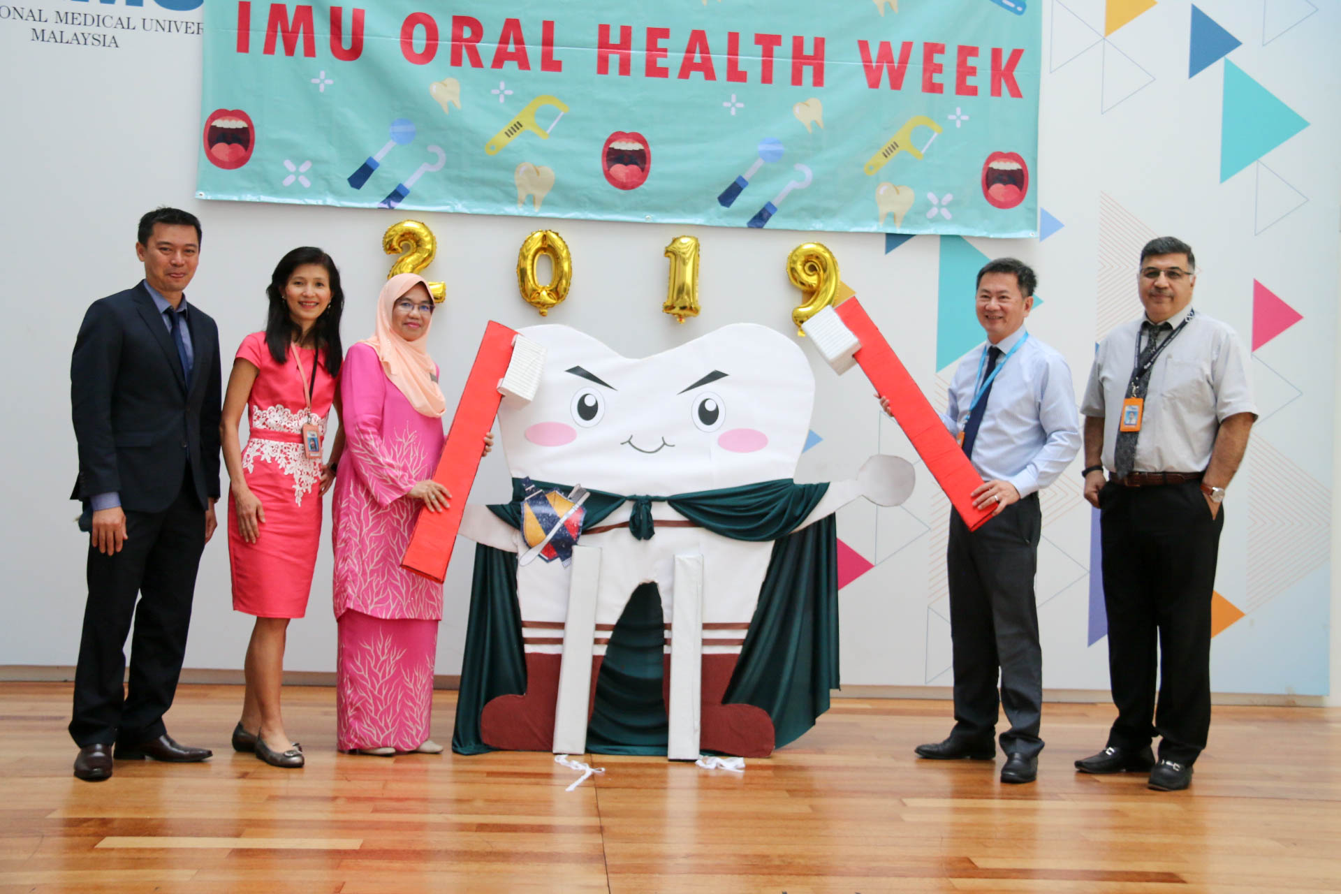A student-led event to raise oral health awareness and promote the importance of self-care in the dental context.