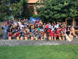 A community project with the underprivileged communities in Medan, which involved 35 IMU students from various programmes.