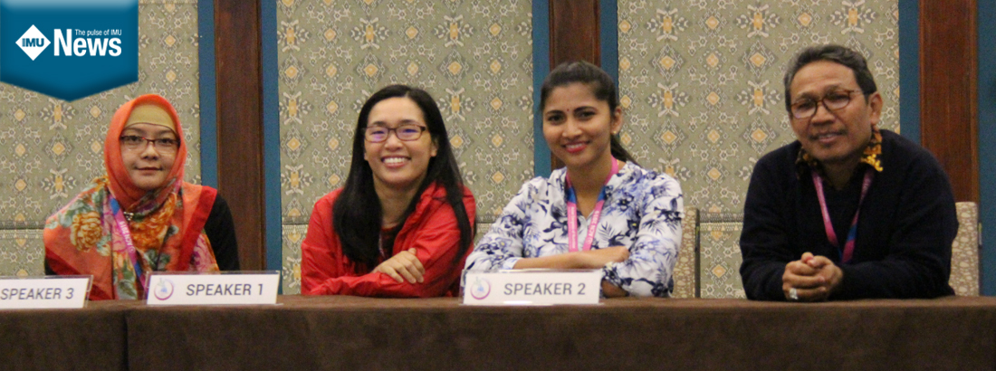 Indonesian Conference provided updates and an avenue for IMU Nutrition and Dietetics team to share their research findings.
