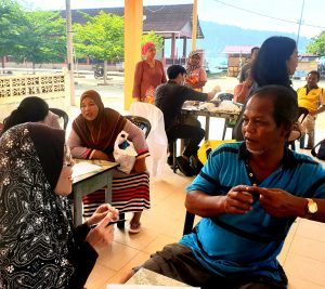 An IMU Cares Project in the form of Health promotion and health education activity at Pulau Perhentian Kecil, Terengganu.