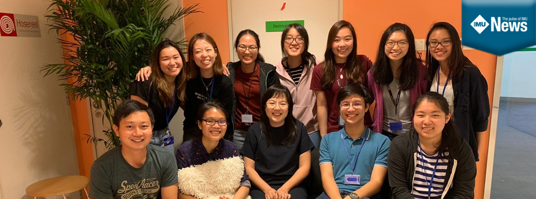 A final year IMU Medical biotechnology student, Lim Kai Shen, shares his internship experience in Singapore.